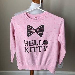 Hello Kitty pink sweatshirt by Uniqlo Kids